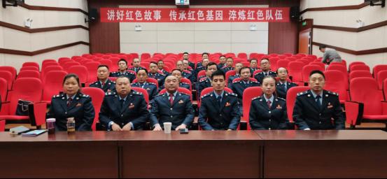 盐津税务28名党员的红色扎西印记